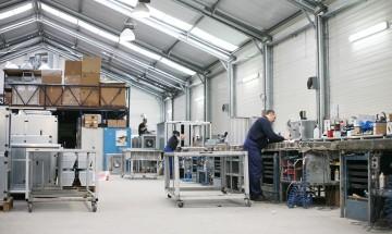RLK Klimatechnik Produktionshalle Krefeld